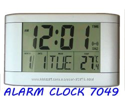 d340f42365e5 Электронные часы настенные, настольные, большой дисплей, термометр, будиль