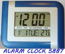 Электронные часы LCD настенные, настольные, большой дисплей, термометр.