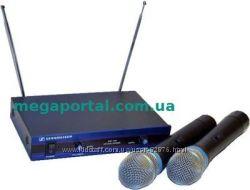 Sennheiser EW-100 2хканальная радиосистема 2 микрофона