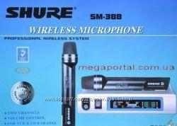 Shure SM-388 радиосистема, Yamaha YM-288 2 радиомикрофона ew-500