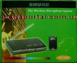 Высококачественная Shure SH-200 Wh h-free гарнитура головная shure sm-58