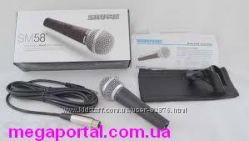 Качественный Shure SM58 шнуровой микрофон динамический вокальный