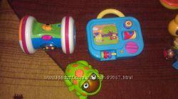Наши фирменные игрушки chicco, fisher-price, мothercare