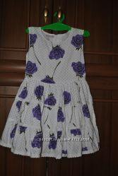 Нарядное летнее платья