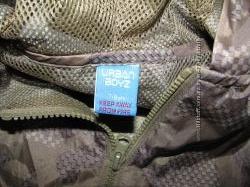 Куртка-ветровка-дождевик Urban Boys р128 7-8 лет