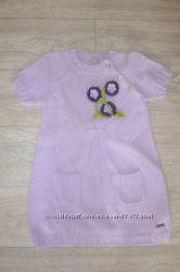 Платье вязаное для девочки бу