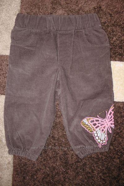 Брюки, бриджы, юбка для девочки, вельветовые
