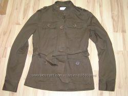 коттоновый пиджак , р. S