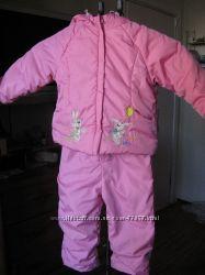 Куртка с полукомбезом на осень-весну-теплую зиму