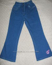 Джинсы TCM для девочки, рост 116-122