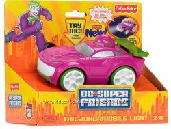 Машинки Fisher-Price, свет, звук