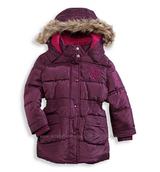 Удлиненная куртка- пальто. Зима. PALOMINO  C&A. Германия.   Размер 98.