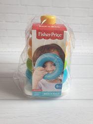 Развивающая игрушка пирамидка - погремушка оригинал Fisher-Price США