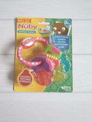 Игрушка-прорезыватель Nuby Ключики с термогелем разноцветные