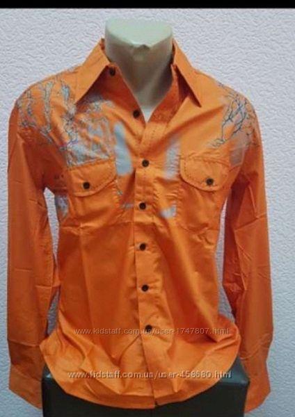 Яркая рубашка Zoor р.48-50, рост 180-185