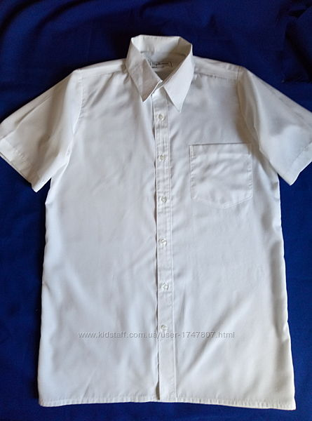 Рубашка классика 46-48, рост до 190, узкие плечи