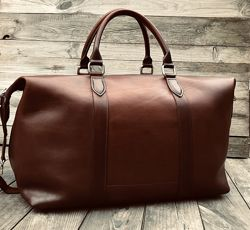 Сумка кожаная дорожная, мужская сумка из кожи, спортивная мужская сумка