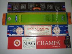 Натуральные Индийские благовония Satya Супер хит,  Наг чампа, Мантрам