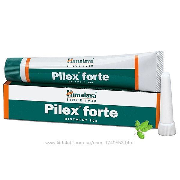 Пайлекс Пилекс, форте мазь, 30 г, Хималая, Himalaya, Pilex Forte