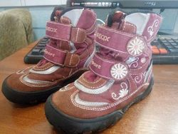 Зимние ботинки geox для девочки