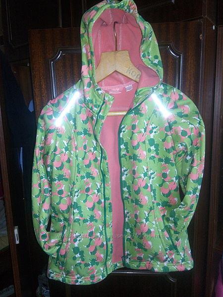 Демисезонная куртка ветровка softshell от Crivit.