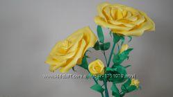 Куст желтой розы ростовые цветы