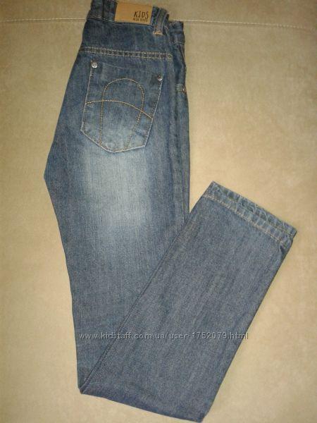 Джинсы сине-серые  Blue Seven на мальчика 7-8 лет, рост 128 см