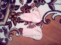 Пинетки, носочки для новорожденного.