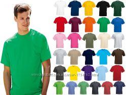 Мужская футболка 100 Хлопок Классическая Fruit of the Loom Valueweight
