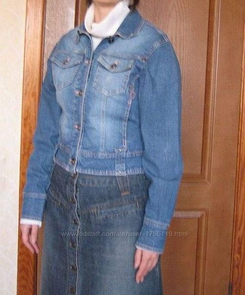 Куртка джинсовая HERE  THERE  раз. 46