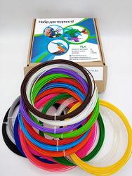 Набор для творчества, пластик, нить , стержни для 3d ручки , 16 цветов 160м