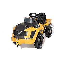 Трактор детский педальный  Rolly Toys 881000  желтый