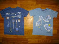 футболки , шведка и рубашки мальчику на 1-9 лет