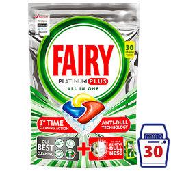 Капсулы для пмм Fairy Platinum All in One Plus 30 шт