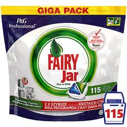 Капсулы для пмм Fairy All in One 115 шт