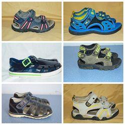 Босоножки сандали Clarks,   Geox. Размер 23-29