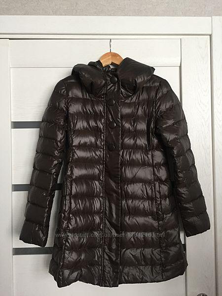 Стёганая демисезонная куртка парка пуховик удлинённая курточка Max&Co XS