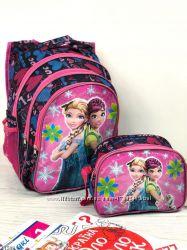 Школьный рюкзак для девочки и мальчика плюс сумка ланчбокс