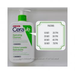 CeraVe Увлажняющий очищающий крем-гель
