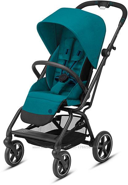 Прогулочная коляска Cybex Eezy S Twist Plus 2 BLK 2020