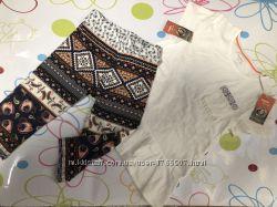 Комплект футболка, леггинсы Lupilu, размер 110-116