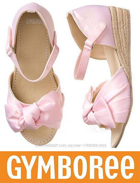 Босоножки для девочки модные Gymboree США 21,5-22,5см стелька