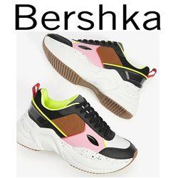 Модные кроссовки Bershka Испания 36,5-37