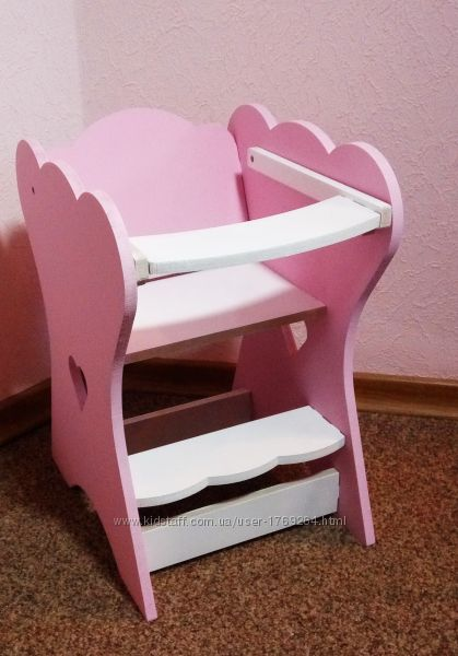 Кукольный стульчик для кормления пупса , Baby Born