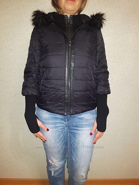 Куртка женская бомберс черная новая Danier размер XXS