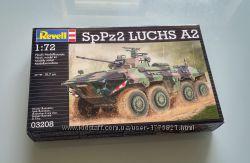 Бронеавтомобиль SpPz 2 Luchs A2, REVELL 03208, 1-72