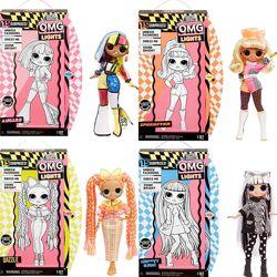 Куклы L. O. L. Surprise O. M. G. Lights Fashion Doll оригинал в наличии