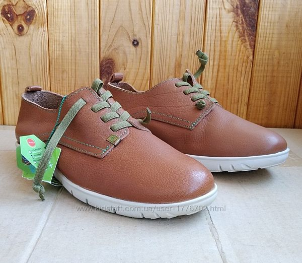 Новые стильные испанские кожаные мокасины туфли удобные кроссовки Slow Walk