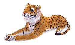 Гигантский плюшевый тигр, 1, 8 м. Melissa & Doug