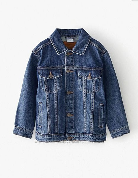 Джинсовая куртка для мальчика